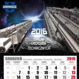 kalendarze trojdzielne unimasz