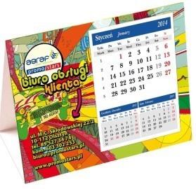 Kalendarz trójkątny Agraf 2014