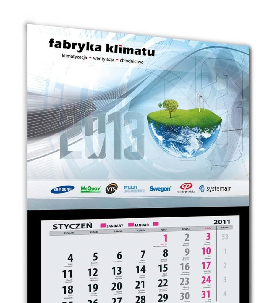 Kalendarz trójdzielny Fabryka Klimatu