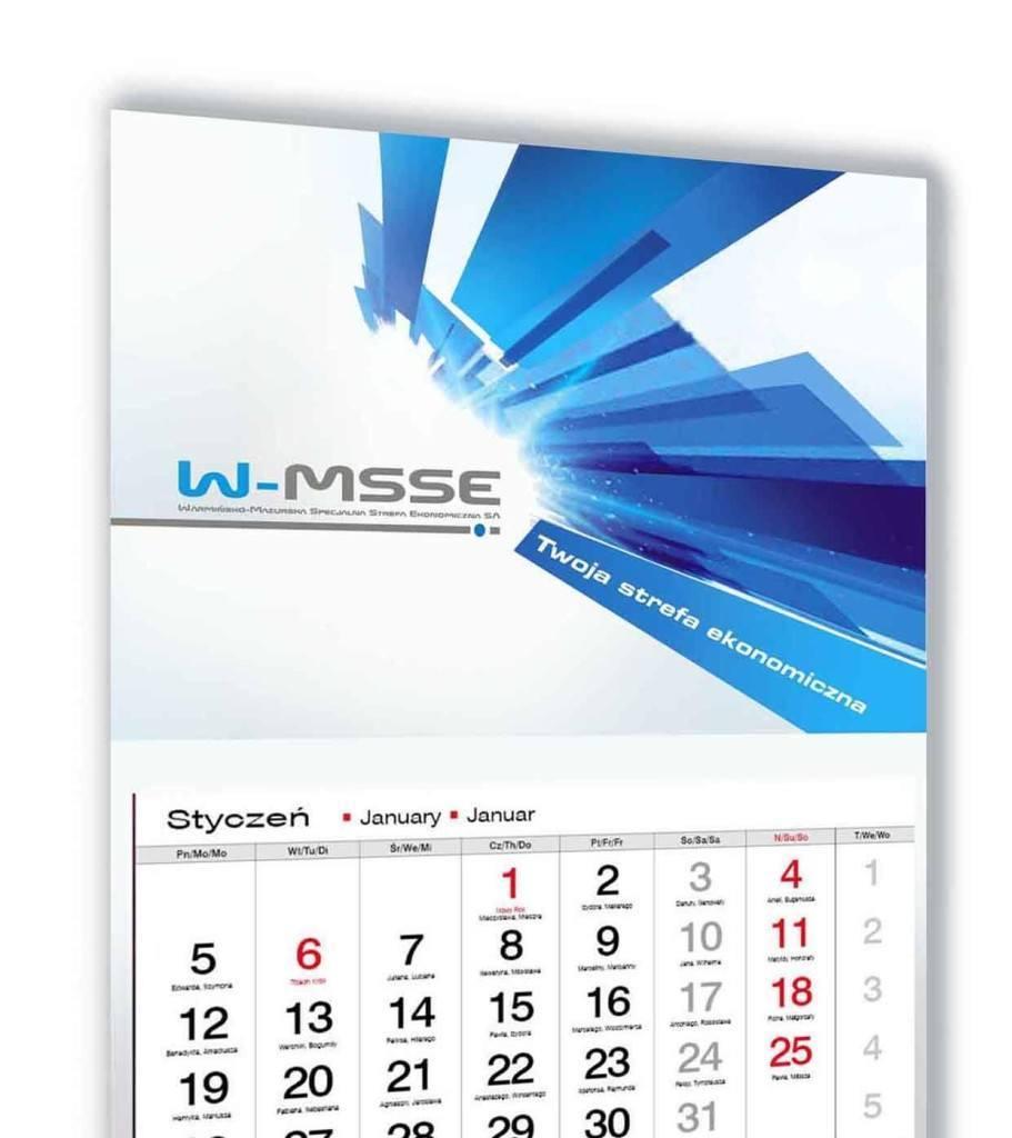 Kalendarz trójdzielny WMSSE