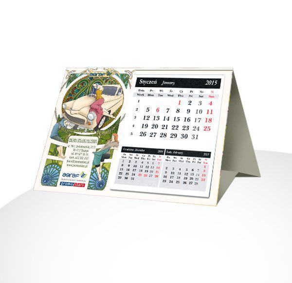 Kalendarz trójkątny Agraf Promostars