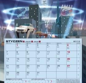 Kalendarz jednodzielny Agraf 2013