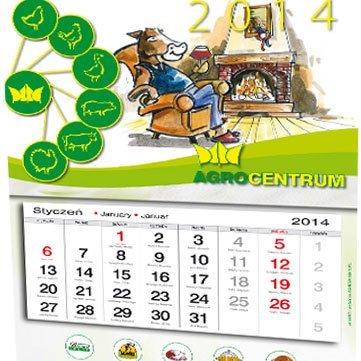 Kalendarz trójdzielny Agrocentrum