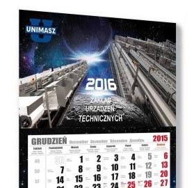 Kalendarz trójdzielny Unimasz