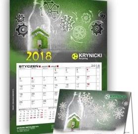 Kalendarz firmy Krynicki na rok 2018